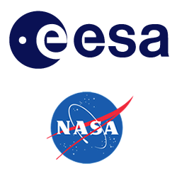 ESA and NASA logos